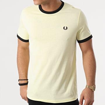Fred Perry - Tee Shirt Ringer M3519 Jaune