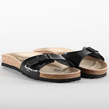 Pepe Jeans - Sandales Femme Oban Basic PLS90524 Black