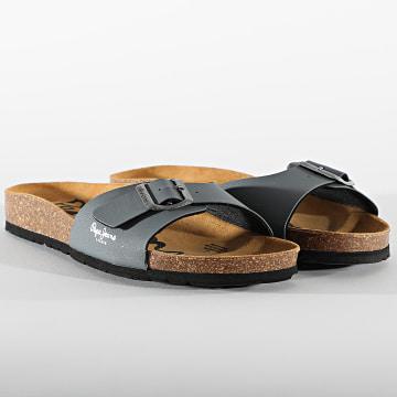 Pepe Jeans - Sandales Bio Basic MFR PMS90092 Grey