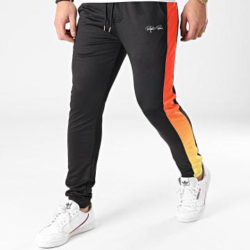 Project X - Pantalon Jogging A Bande 2140108 Noir