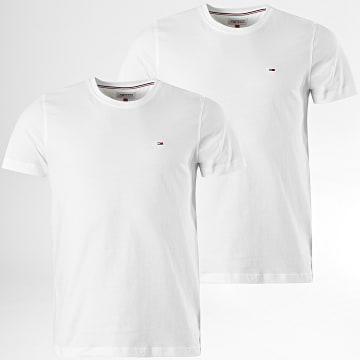 Tommy Jeans - Lot De 2 Tee Shirts 0705 Blanc