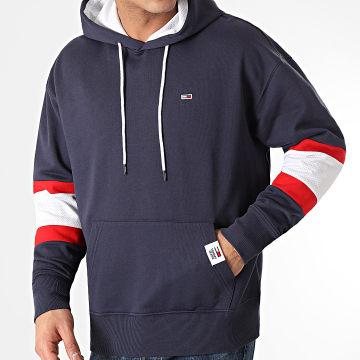 Tommy Jeans - Sweat Capuche RWB 0657 Bleu Marine