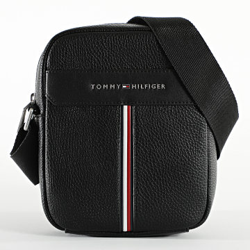 Tommy Hilfiger - Sacoche Downtown Mini Reporter 7230 Noir