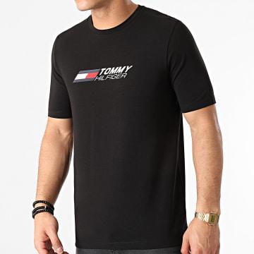 Tommy Sport - Tee Shirt Logo 7282 Noir