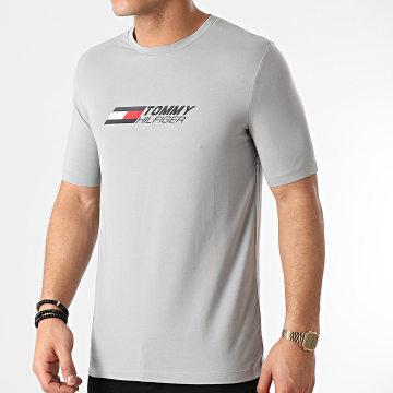 Tommy Sport - Tee Shirt Logo 7282 Gris