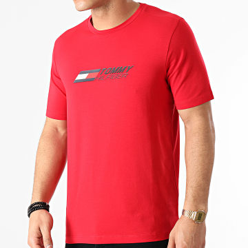Tommy Sport - Tee Shirt Logo 7282 Rouge