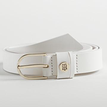 Tommy Hilfiger - Ceinture Femme Classic 9819 Blanc