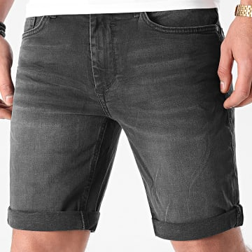 Blend - Short Jean Slim Twister 20711770 Noir