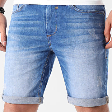 Blend - Short Jean 20711771 Bleu Denim