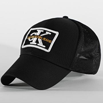 Calvin Klein - Casquette Trucker Mono Embro Patch 6814 Noir