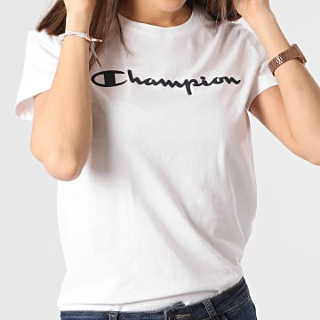 Champion - Tee Shirt Femme 112602 Blanc