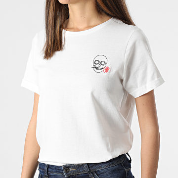 Deeluxe - Tee Shirt Femme Blanc