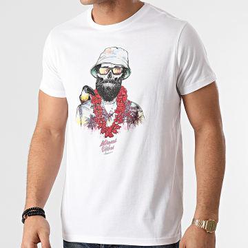 Deeluxe - Tee Shirt Aloha Blanc