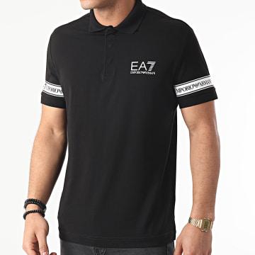 EA7 Emporio Armani - Polo Manches Courtes 3KPF04-PJ03Z Noir