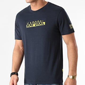 Kaporal - Tee Shirt Dino Bleu Marine