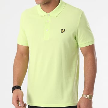 Lyle And Scott - Polo Manches Courtes SP400VTR Vert Anis