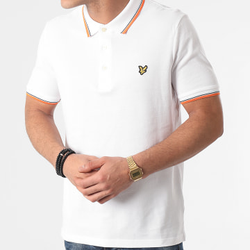 Lyle And Scott - Polo Manches Courtes SP800VTR Blanc