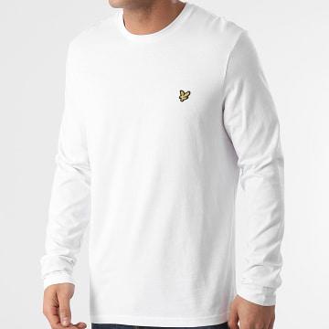Lyle And Scott - Tee Shirt Manches Longues TS512V Blanc