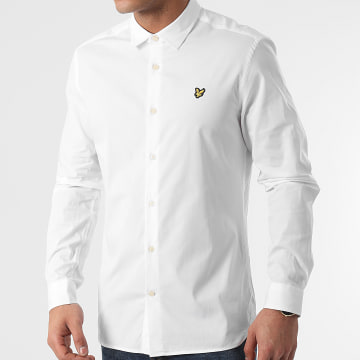 Lyle And Scott - Chemise Manches Longues LW1115V Blanc