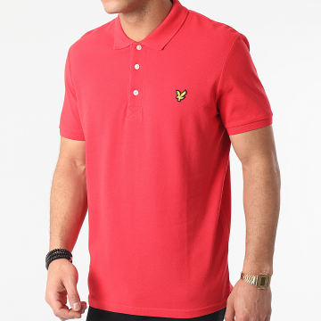Lyle And Scott - Polo Manches Courtes SP400VTR Rouge