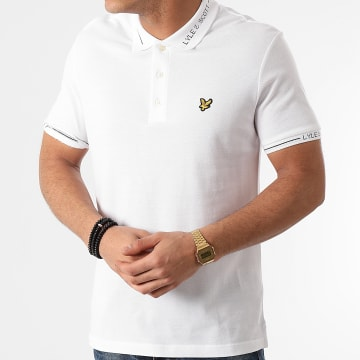 Lyle And Scott - Polo Manches Courtes SP1423V Blanc