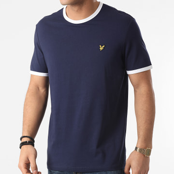 Lyle And Scott - Tee Shirt TS705V Bleu Marine