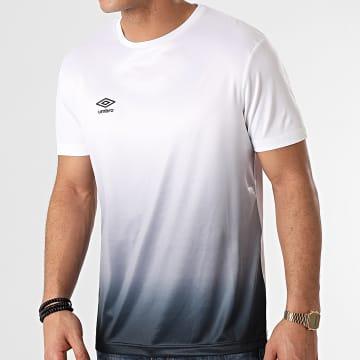 Umbro - Tee Shirt De Sport Dégradé 848120-60 Blanc Gris