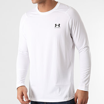 Under Armour - Tee Shirt Manches Longues 1361506 Blanc