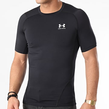 Under Armour - Tee Shirt Compression 1361518 Noir