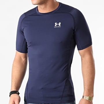 Under Armour - Tee Shirt Compression 1361518 Bleu Marine