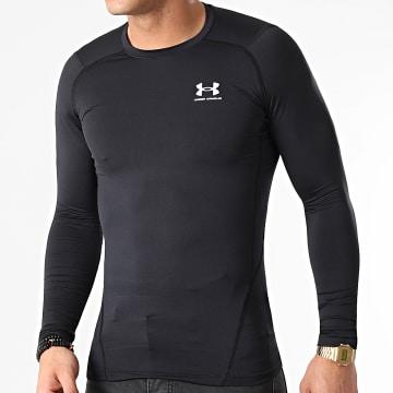 Under Armour - Tee Shirt Manches Longues Compression 1361524 noir