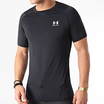 Under Armour - Tee Shirt Compression 1361683 Noir