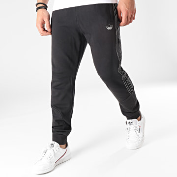 Adidas Originals - Pantalon Jogging A Bandes SPRT GN2426 Noir