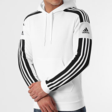 Adidas Performance - Sweat Capuche A Bandes GT6637 Blanc