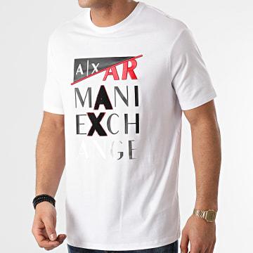 Armani Exchange - Tee Shirt 3KZTFD-ZJBVZ Blanc Argenté