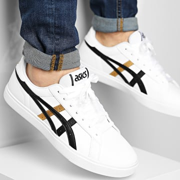 Asics - Baskets Classic CT 1202A107 White Pure Gold