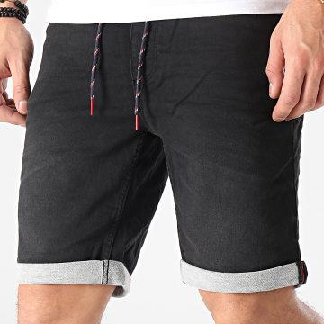 Blend - Short Jean 20711775 Noir