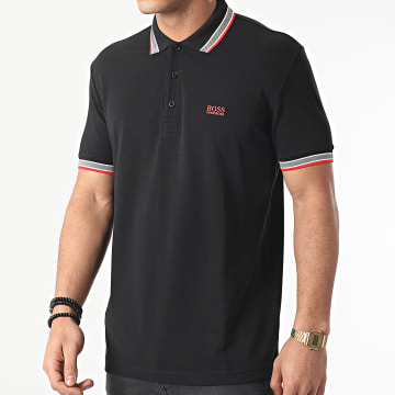 BOSS - Polo Manches Courtes Paddy 50398302 Noir