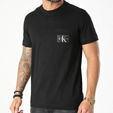 Calvin Klein - Tee Shirt Poche 8088 Noir