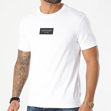 Calvin Klein - Tee Shirt Chest Box Logo 6484 Blanc