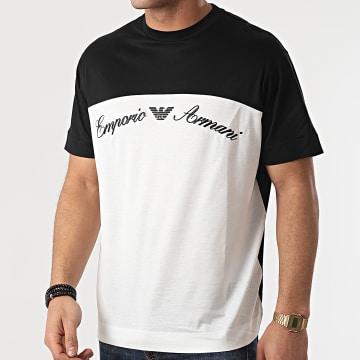 Emporio Armani - Tee Shirt 3K1TAB-1JUVZ Blanc Noir