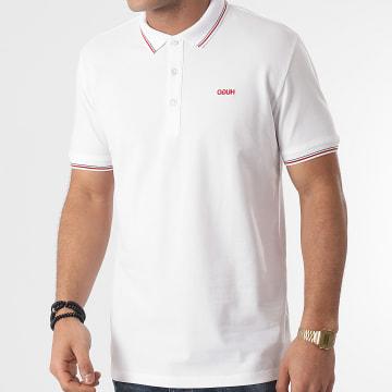 HUGO - Polo Manches Courtes Dinoso 50448780 Blanc
