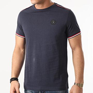 Le Temps Des Cerises - Tee Shirt Mirto Bleu Marine