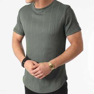 Uniplay - Tee Shirt Oversize T755 Vert Kaki