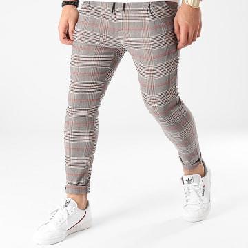 Uniplay - Pantalon A Carreaux T3576 Gris