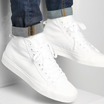 Adidas Originals - Baskets Montantes Nizza Hi B41643 Footwear White Off White