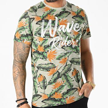 American People - Tee Shirt Tenef Gris Floral