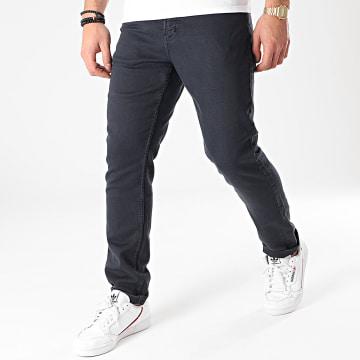 American People - Pantalon Jogg Jean Molls Bleu Marine