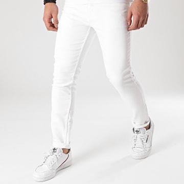 American People - Pantalon Jogg Jean Molls Blanc