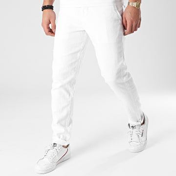 American People - Pantalon Chino Paca Blanc